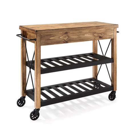 crosley furniture roots rack industrial kitchen