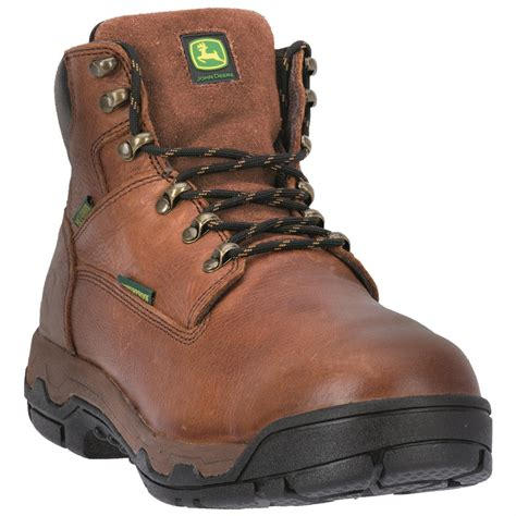 safety toe work boots deere s wct ii 6 quot waterproof safety toe work