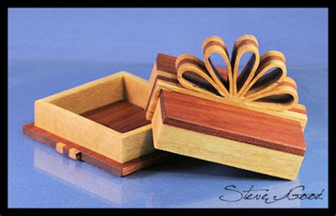Scrollsaw Workshop Gift Box With Ribbon Scroll Saw Pattern