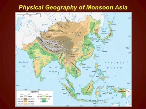 monsoon asia map chapter7