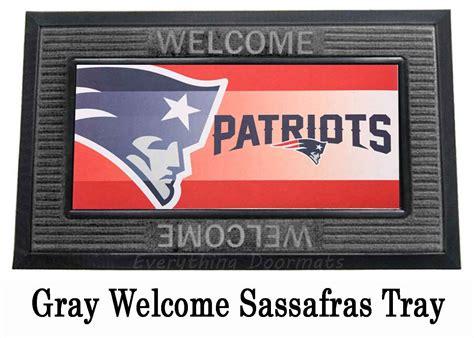 Patriots Doormat by New Patriots Sassafras Mat 10 X 22 Insert Doormat