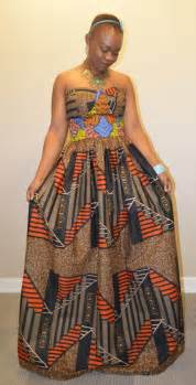 African print bustier dress by rahyma awanife 180 00 usd african