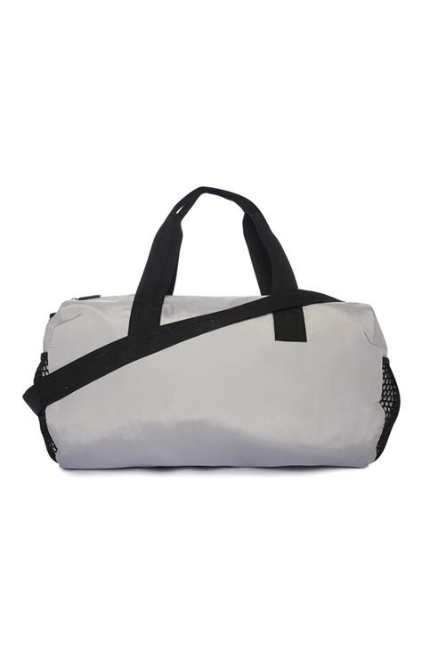 Large Printed Holdall From Primark by A Really Exceptional Grey Mesh Holdall Bag Is Available