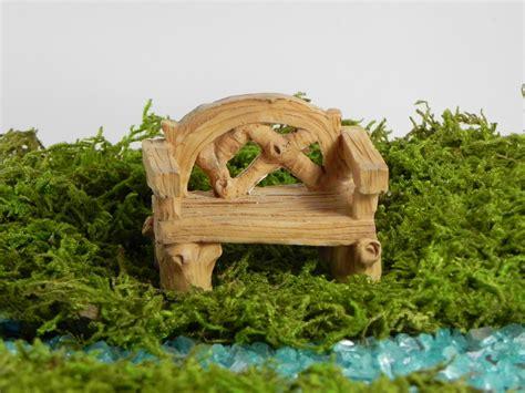 fairy garden bench fairy garden bench accessories tiny furniture miniature