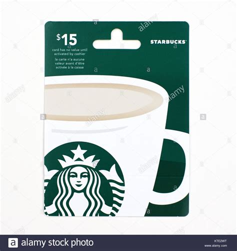 Gift Cards Montreal - starbucks card stock photos starbucks card stock images alamy