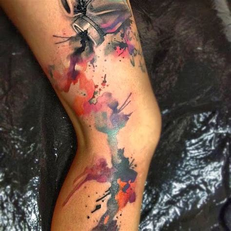 watercolor tattoos damn cool pictures