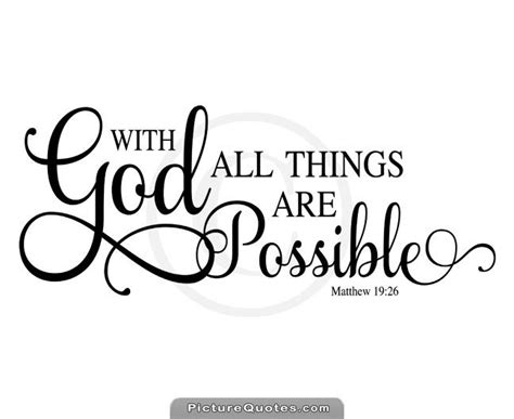 All Things Possible with god all things are possible cover photo www