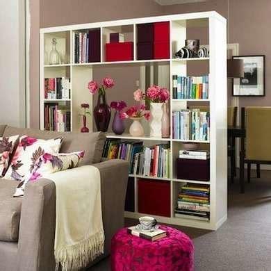bookcase room room dividing bookshelf room divider ideas 17 cool diy
