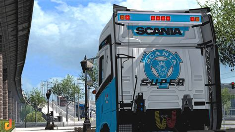 pack backplate scania sr    tuning mod ets mod