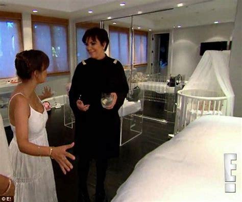 kris jenner bedroom furniture kourtney kardashian clashes with kris jenner over state of