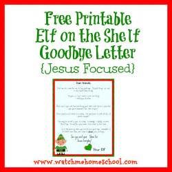 goodbye letter from on the shelf printable search