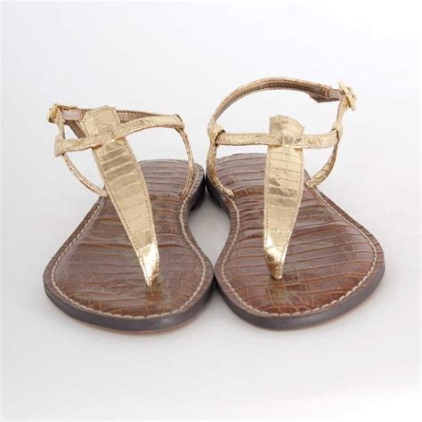 sam edelman gold sandals sam edelman gigi sandal in gold boa 65 sam edelman