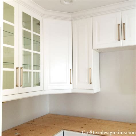 ikea glass kitchen cabinets kitchen remodel using ikea cabinets cre8tive designs inc