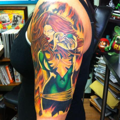 cartoon tattoo artist nj phoenix character by paul nolin tattoonow