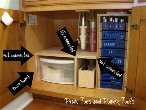 under sink storage ideas bathroom under the sink storage time to organize bathroom