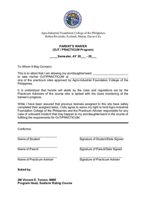 certificate sample for ojt best medical certification fresh of