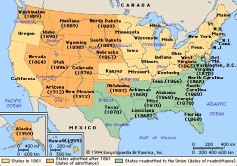 united states map post civil war firstencounter facts and figures after the war