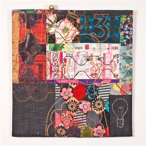 Home Decorating Fabric by 6 Textile Artists Using Recycled Materials Textileartist Org