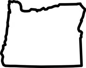 oregon map outline oregon outline clip at clker vector clip