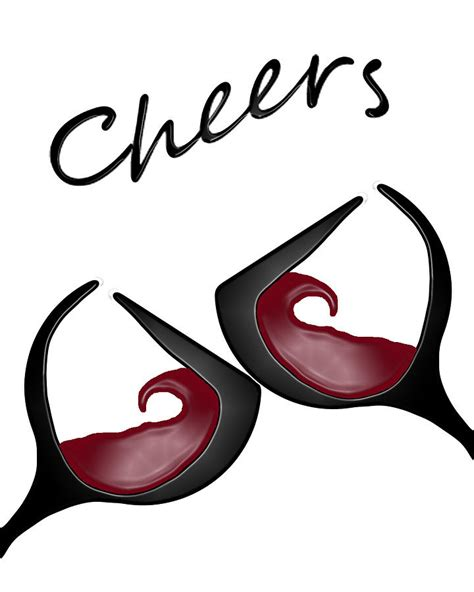 glasses cheers the gallery for gt cheers wine glasses clip art