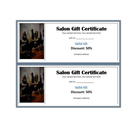 templates for gift certificates free downloads 31 free gift certificate templates template lab