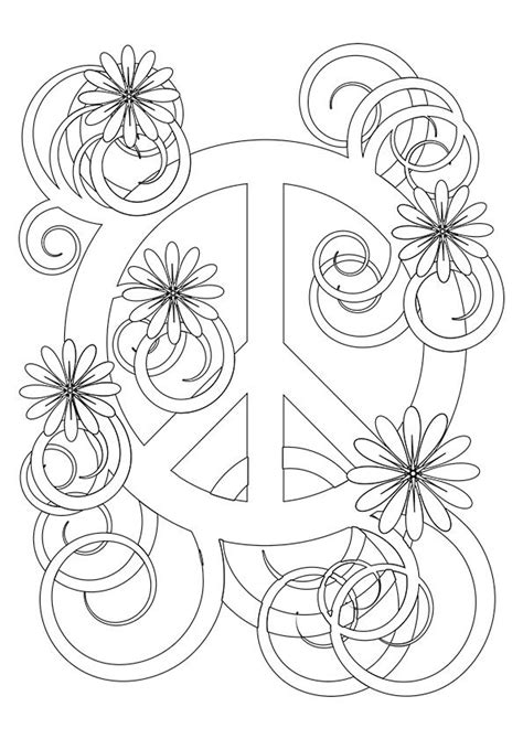 peace colouring bookmarks simple and attractive free printable peace sign coloring