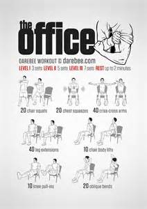 Desk Chair Workout 1000 Ideas About Workout F 252 R Zuhause On Lean