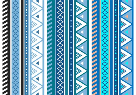 aztec patterns free free blue aztec geometric seamless vector pattern