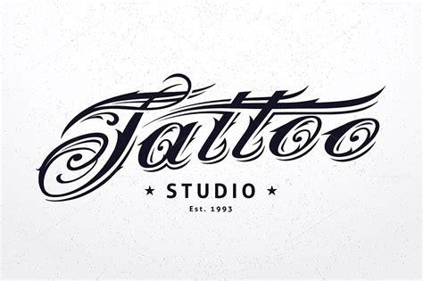 tattoo logo template tattoo studio logo template logo templates on creative