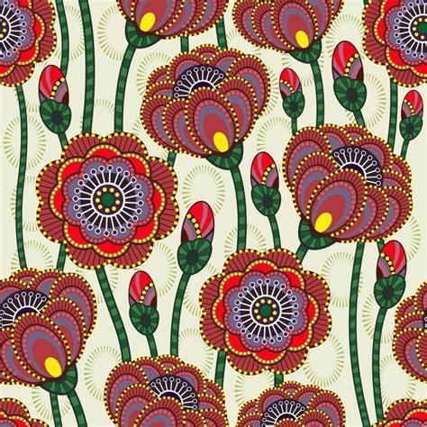 carte di fiori carta da parati in vinile seamless texture di fiori di