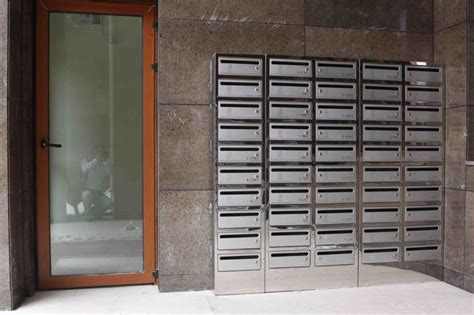 Apartment Mail Boxes by Free Standing Rustproof Apartment Building Stainless Steel