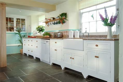 free standing kitchen cabinets uk bespoke kitchens cornwall painted kitchen shaker style