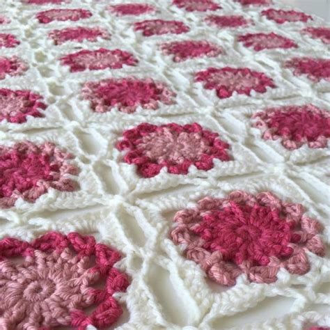 bed of flowers baby blanket knitting patterns and crochet patterns from knitpicks com