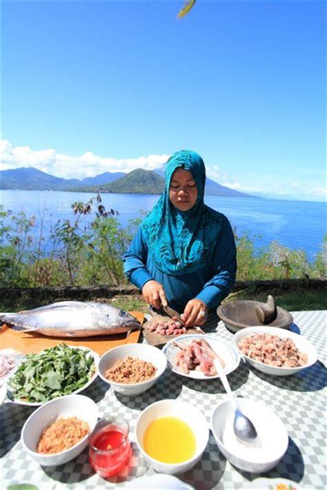 Batu Batik Ternate gohu ikan primadona kuliner ternate indonesiakaya