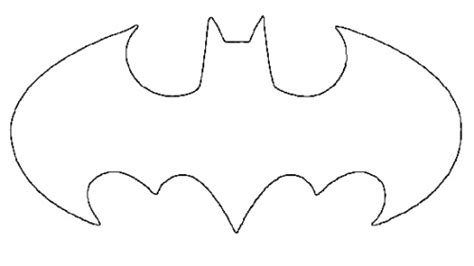 batman symbol template batman symbol template cliparts co