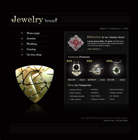 jewelry templates jewelry flash template 9257