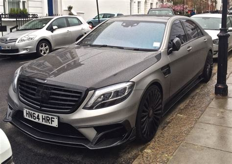 mansory mercedes mansory mercedes s63 amg spotted in london
