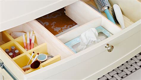 bathroom drawers organizers bathroom drawer organizer
