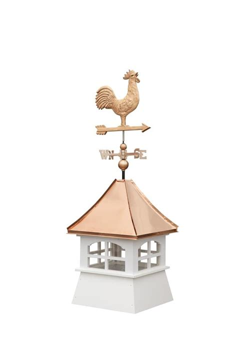 Cupola With Weathervane Classic Vinyl Cupola By Dutchcrafters Amish Furniture