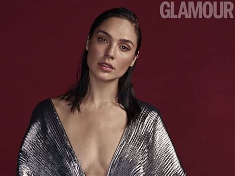 dua lipa and gal gadot gal gadot on the cover of glamour uk december 2017