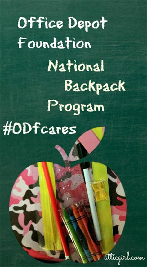 Office Depot Foundation by Office Depot Foundation National Backpack Program