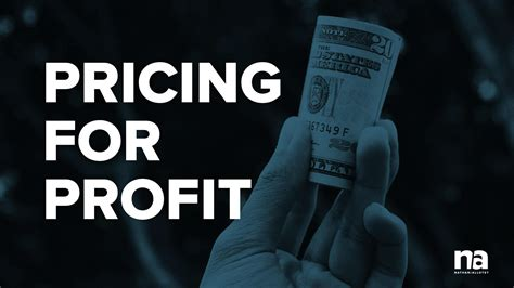 Pricing For Profit 035 pricing with profit in mind nathan allotey official site
