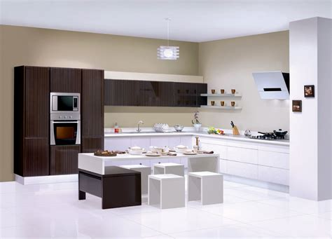 sleek kitchen sleek modular kitchen magnificent home security decoration