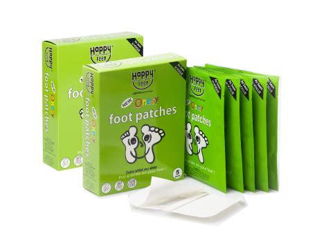 Premium Detox Foot Patches by 20 Premium Happy Detox Foot Patches