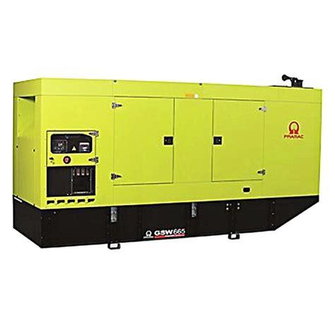 pramac gsw665m diesel generator standby generator