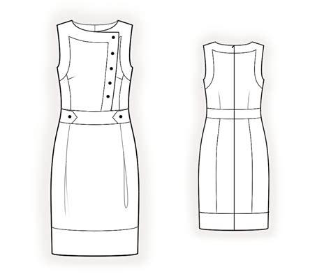 online pattern download denim dress sewing pattern 4367 made to measure sewing