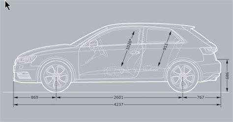 Audi A3 Technische Daten by Audi A3 Sportback Kofferraum Ma 223 E Auto Bild Idee