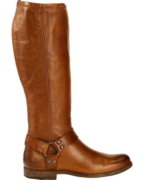 frye 039 s phillip harness boot extended calf