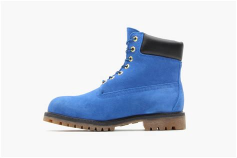 atmos x timberland 6 quot premium blue suede boot sneakerfiles