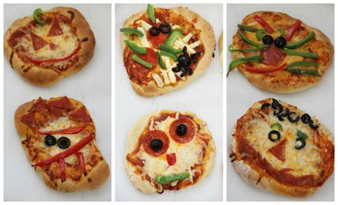 Scary Pizza creepy mini pizzas with fleischmann s yeast diary of a recipe collector